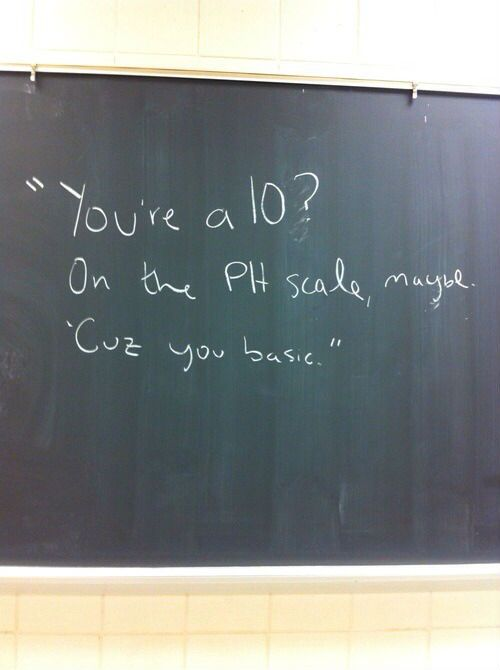 youre a 10 on the ph scale geekery pinterest funny humor and
