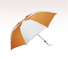 Turn your audience into your brand ambassadors by handing out these custom umbrellas that are too good to overlook! #folding #logo #branding #umbrellas #freesetup