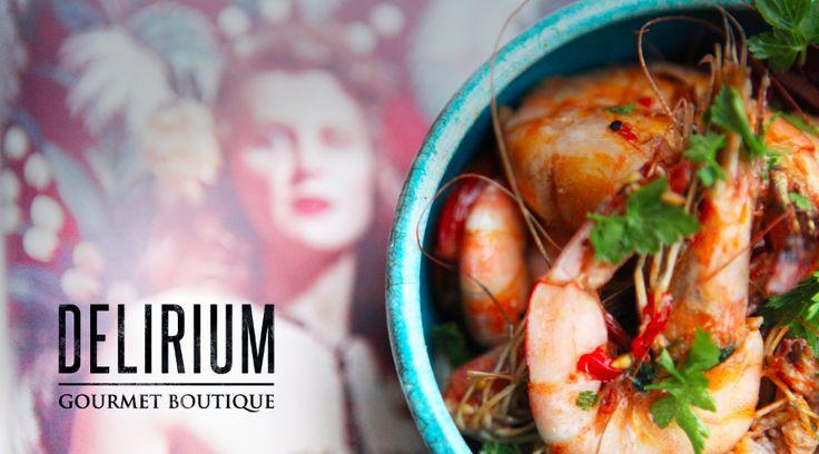 Delirium Gourmet Boutique - Branding