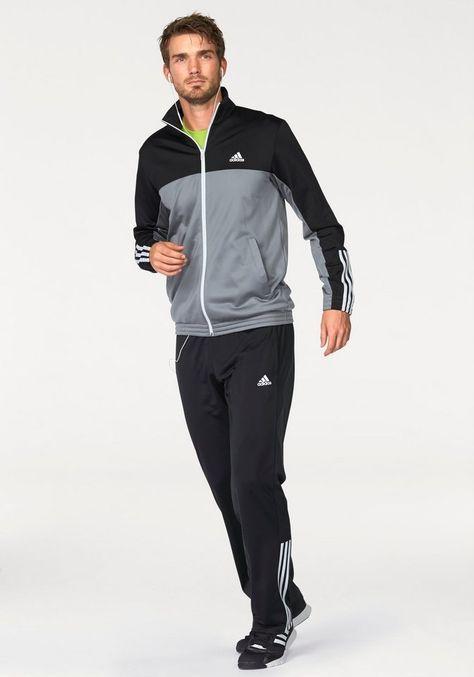 bb6d903d4 adidas Performance PES MID 3S CB TRACKSUIT Trainingsanzug | Mens ...