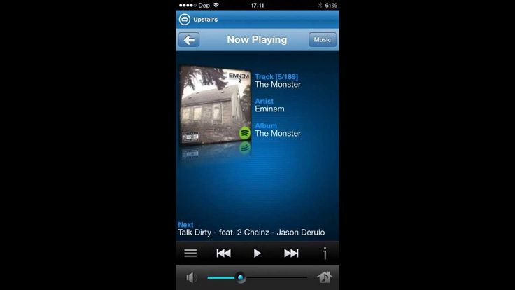 Sonos Controller App for iPhone / iPod Touch