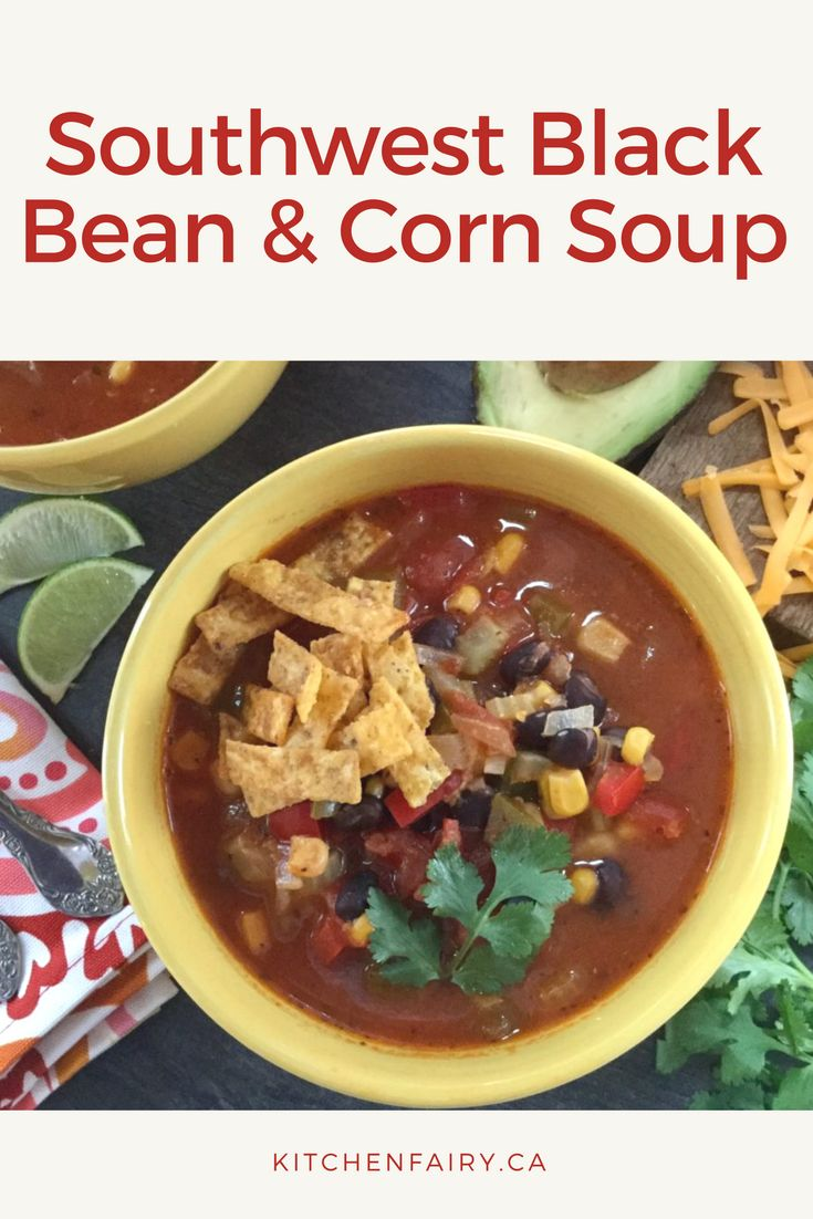 Your taste buds will appreciate this pleasantly spicy and subtly smoky soup full of lively flavours. It's jammed packed with black beans, corn, bell peppers, lime juice, tomatoes and chipotle peppers in adobo sauce. This amazing soup is low in fat and super nutritious without compromising on heartiness. A must try!