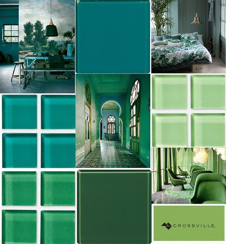 This #mosaicmonday celebrates the most abundant color in nature. Green communicates peace, balance and harmony and used in interiors, this soothing hue can rejuvenate and restore, giving the feeling of being connected to nature and feeling safe and secure. // #mosaics #instadesign #tiled #tiling #tilework #walltile #glasstile #archilovers #interior #interiors #interiordesign #tilelove #tileaddiction #backsplash #splashback #interiordesigner #interiorinspiration #kitchendesign…