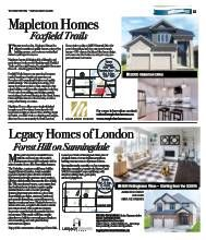 """We are Featured in the London Free Press """"Model Home Tour Fall: 2015"""" - Check it out! #LondonFreePress #LFP #LdnOnt #ModelHome #NewHome #Construction"""
