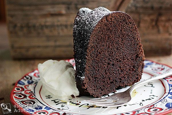 Midnight Mocha Rum Cake - not just a tasty looking cake but a ...