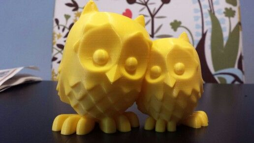 #owls #3dprint #ultimaker www.3drucken.ch