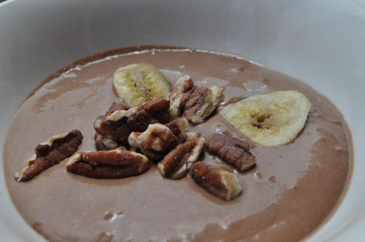 how to make paleo chocolate pudding