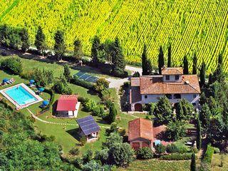 Huur een boerderij in Montaione, Florence en omgeving dichtbij de golfbaan met 2 slaapkamers, vanaf €60 per night. Voor een complete vakantie - HomeAway