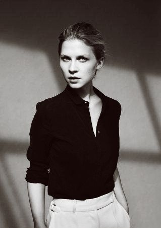 Rester Simple — clemence-poesy:   Ph. by Mark Pillai