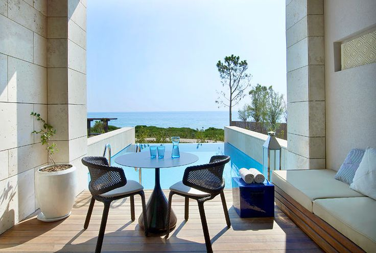 The Romanos, a Luxury Collection Resort, Costa Navarino - Premium Infinity Room - view