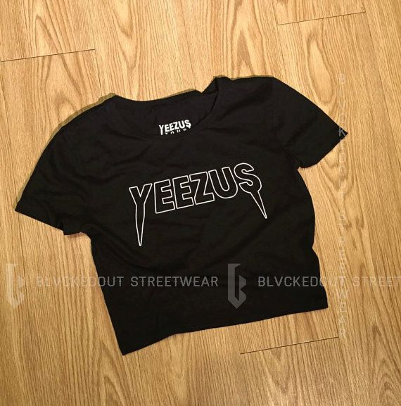 Yeezus Tour Cropped Kanye West T-Shirt / Yeezy by BlvckedOut