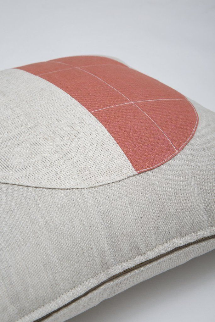 Pink Moon Pillow
