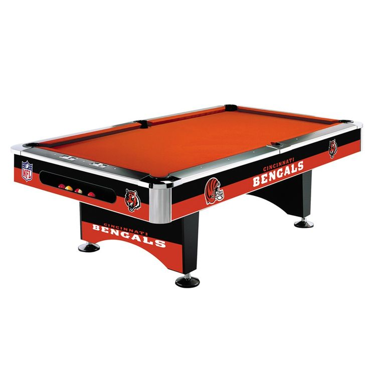 Cincinnati Bengals 8Ft Pool Table By Imperial