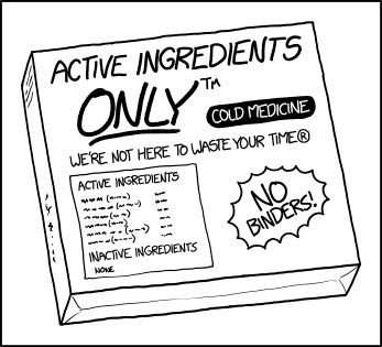 Active Ingredients Only: