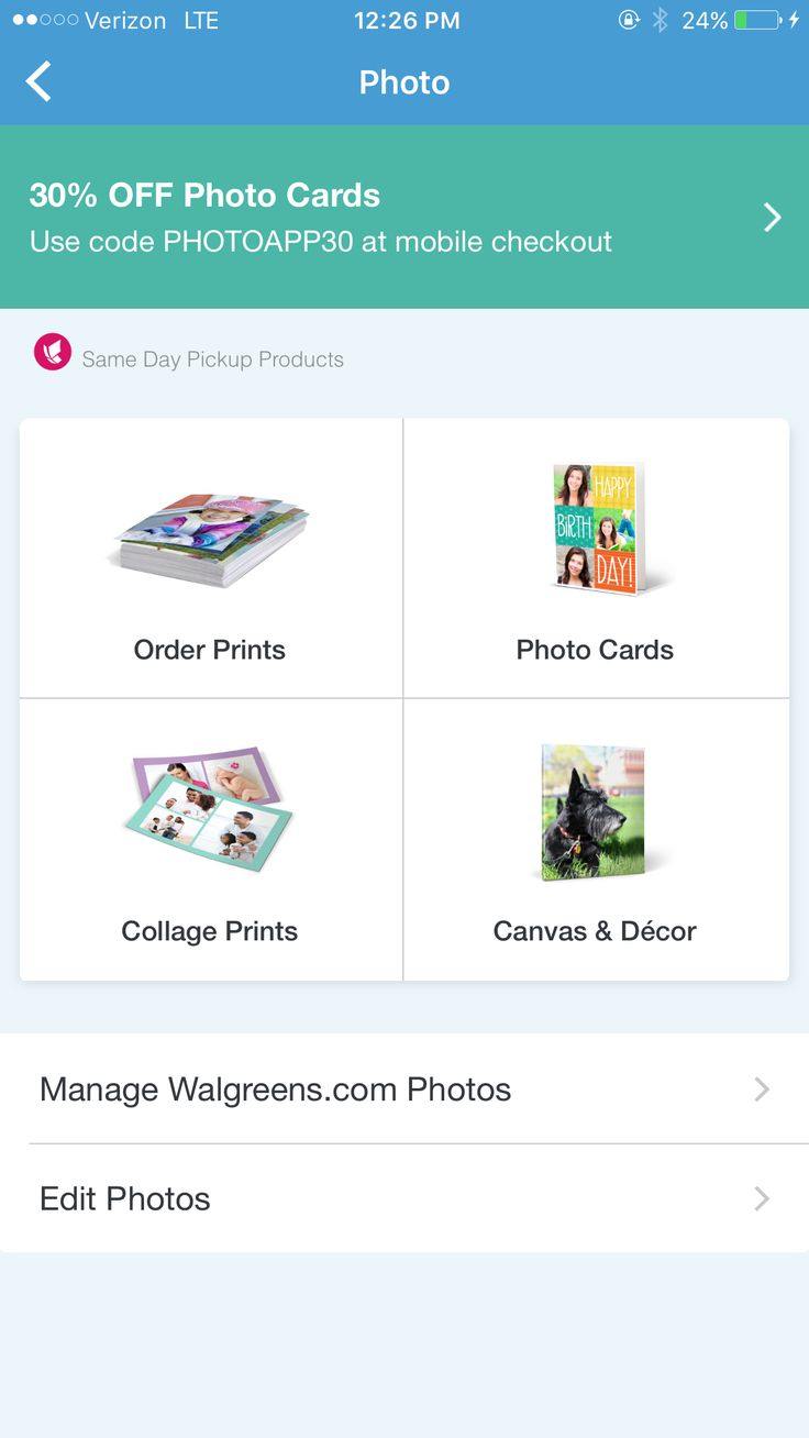 How to quickly and easily order photo prints using the Walgreens mobile app
