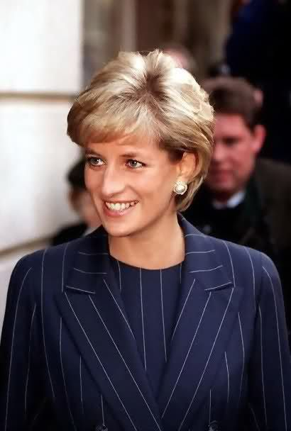 Princess Diana - 1996  She would be so proud of William and Harry!