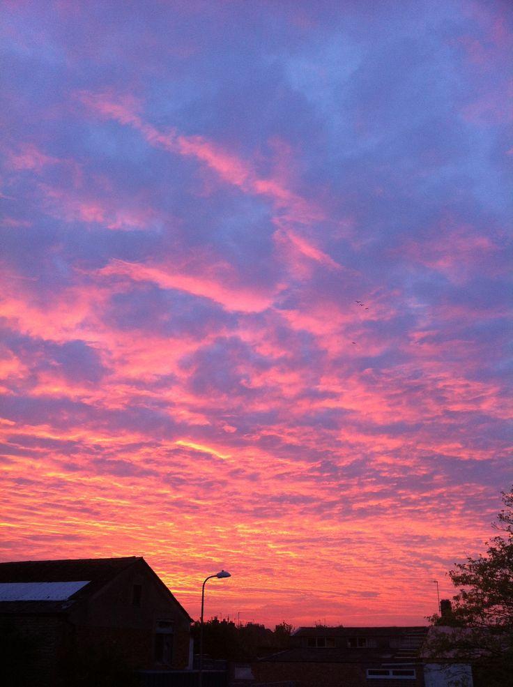 #sunset #sky #seaford