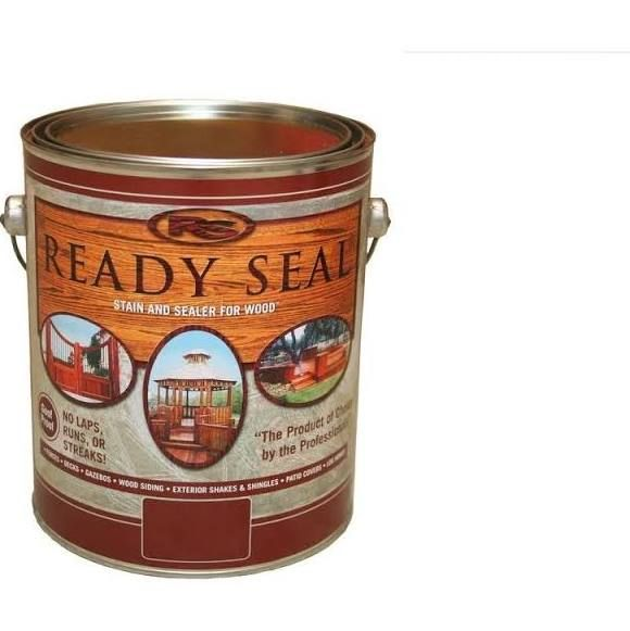 Ready Seal 1 Gal Natural Cedar Exterior Wood Stain And Sealer Diy Home Improvements