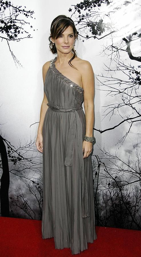 Sandra Bullock in Lanvin at the Hollywood premiere of Premonition