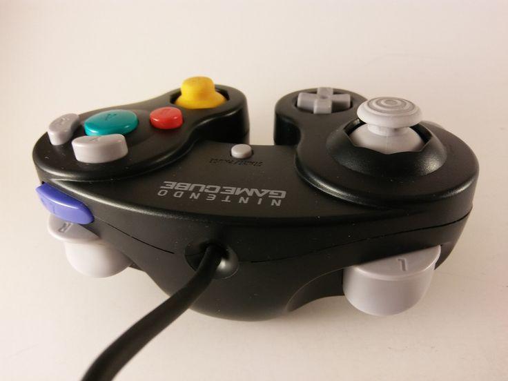 Genuine Black Nintendo GameCube Controller  Official Nintendo DOL-003 FREE SHIP! #Nintendo