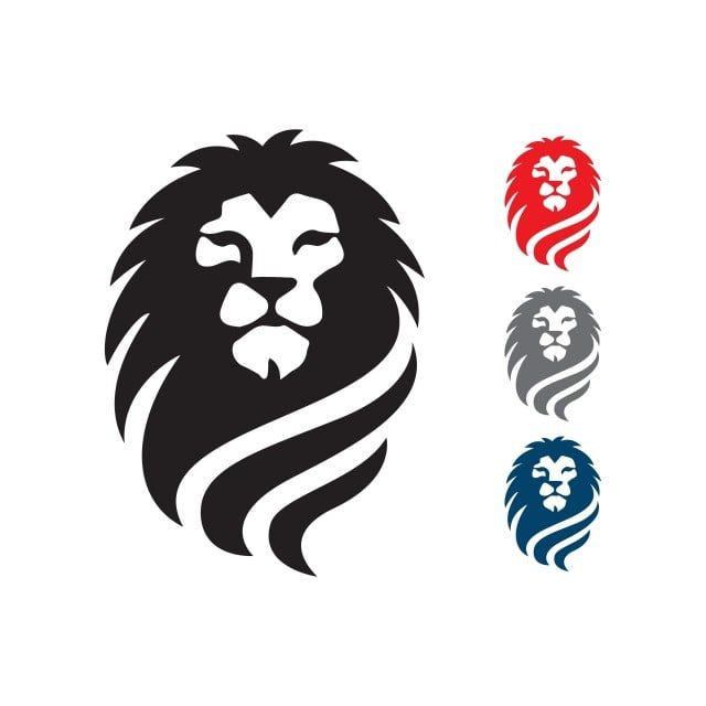 عظيم الأسد رئيس شعار مكافحة ناقلات السلطة ورمز علامة عنصر الأسد الملك المرسومة شعارات أيقونات أيقونات الطاقة Png والمتجهات للتحميل مجانا Lion Head Logo Lion Icon Lion Vector