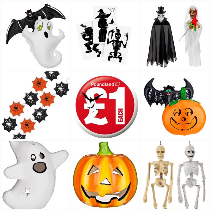 Poundland has Halloween covered!
