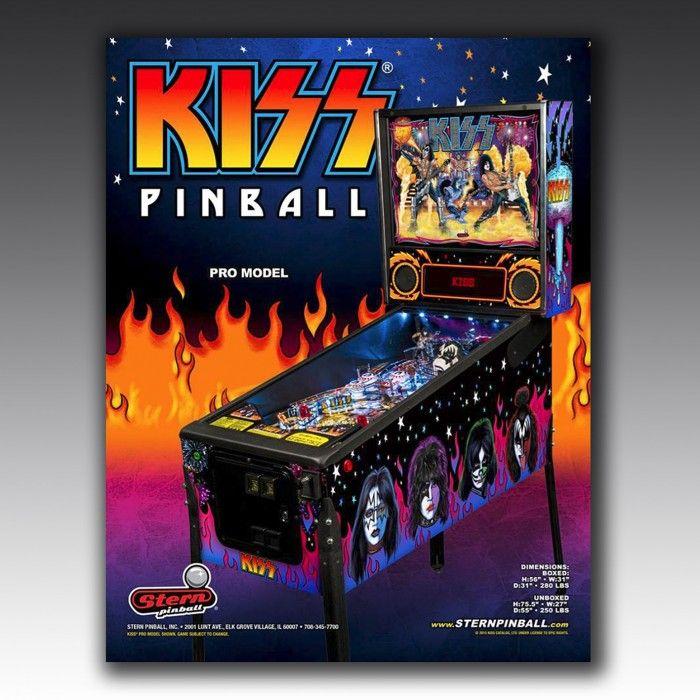 Kiss Pinball Machine | The Games Room Company