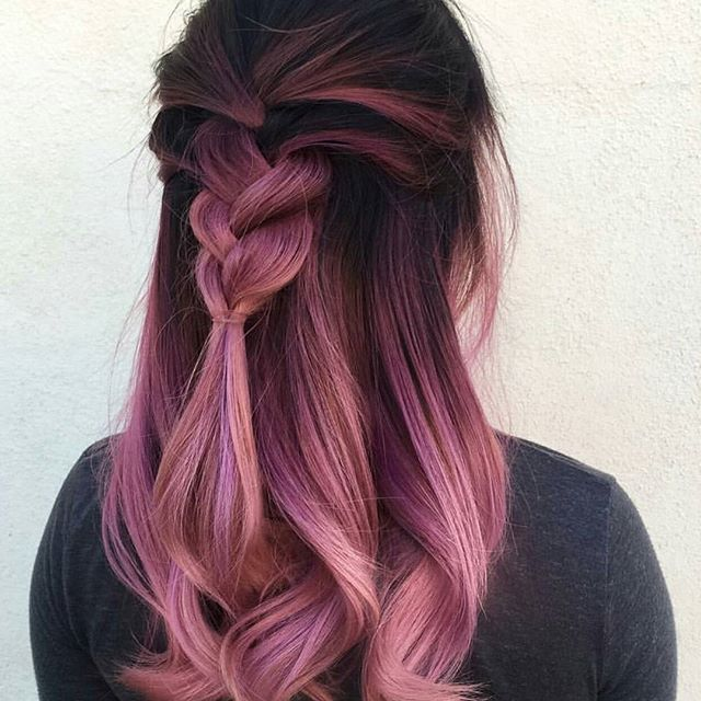 18 Best October Hairinspiration Images On Pinterest Colourful Hair
