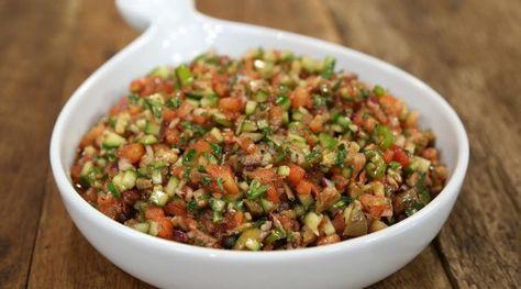 Arda'nın Mutfağı Zeytinli Kaşık Salatası Tarifi 12.11.2016