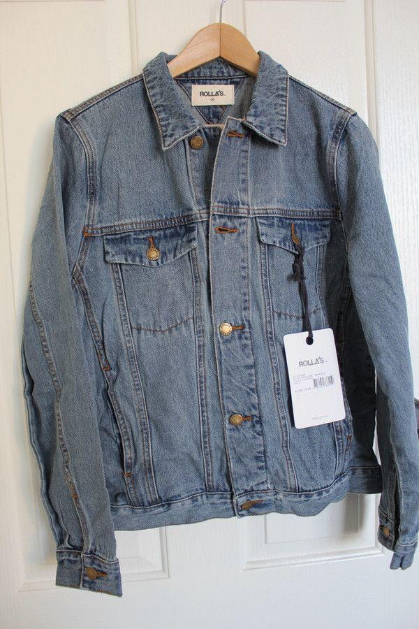 ROLLAS - Denim Jacket Smoke Blue