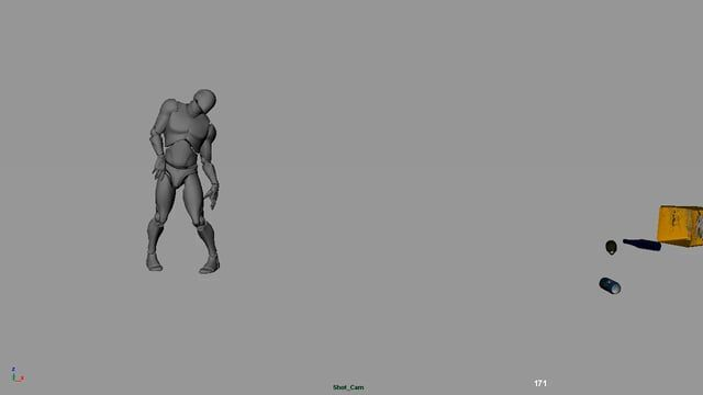 Test I did for a Animation Studio. Time took around 20-23 hours after office. Feedback's are most welcome!