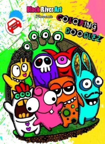 Coloring Doodlez Travel Size Book By Karlon Douglas Amazon