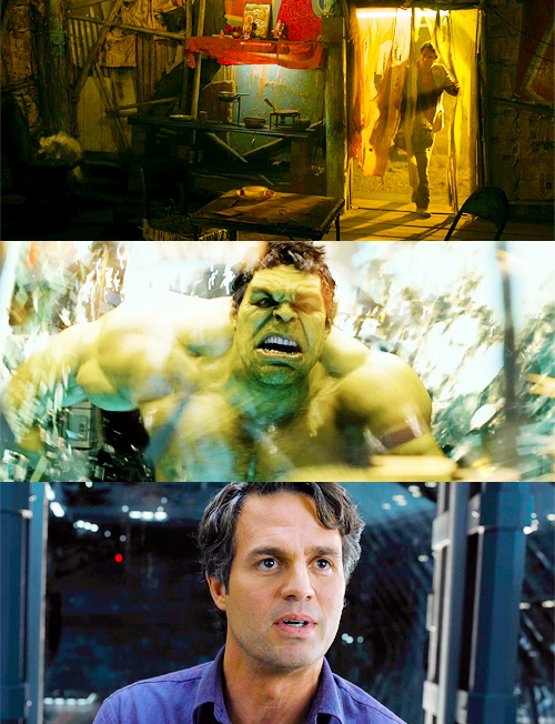 """The Avengers. """"That's my secret, Captain: I'm always angry."""""""