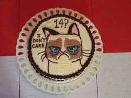 Grumpy Cat Birthday   GrumpyCatMerch.com   Grumpy Cat Birthday Cakes