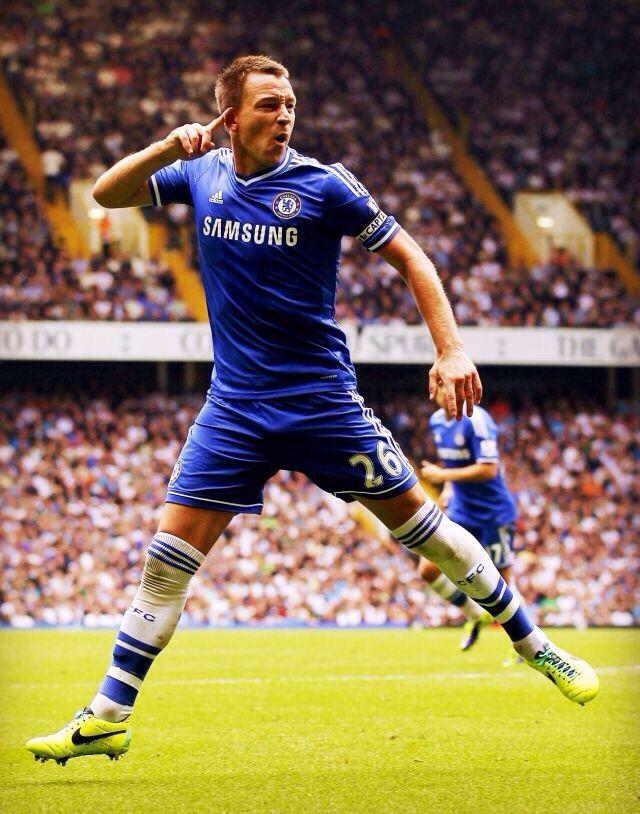 Tottenham vs Chelsea September 28, 2013 John Terry