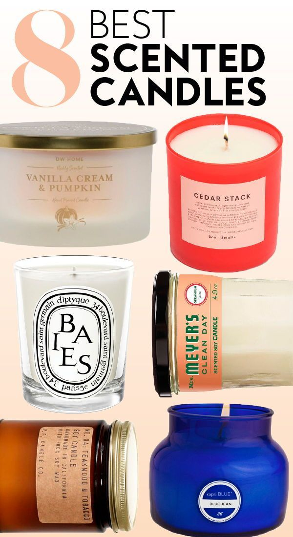 8 Scented Candles That Will Literally Make Everything Smell
