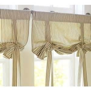 ticking stripe tie up curtain - Yahoo Image Search Results