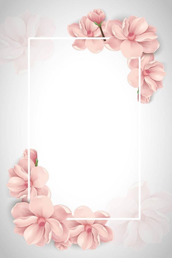 Pink frame karte geboren hintergrund