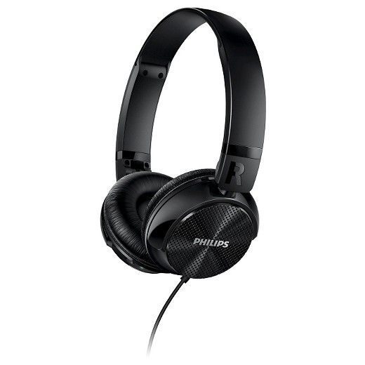The Philips SHL3750NC/27 Noise Canceling On-head Headphones uses the advanced ActiveShield™ active noise canceling technology allowing for complete immersion in music. Tuned 32mm neodymium drivers combined with a closed-back acoustic system design and on-ear sealing provide an excellent and impressive precision sound. Pressure-relieving cushions provide longwearing comfort and a compact foldable design is ideal for portability and easy storage.