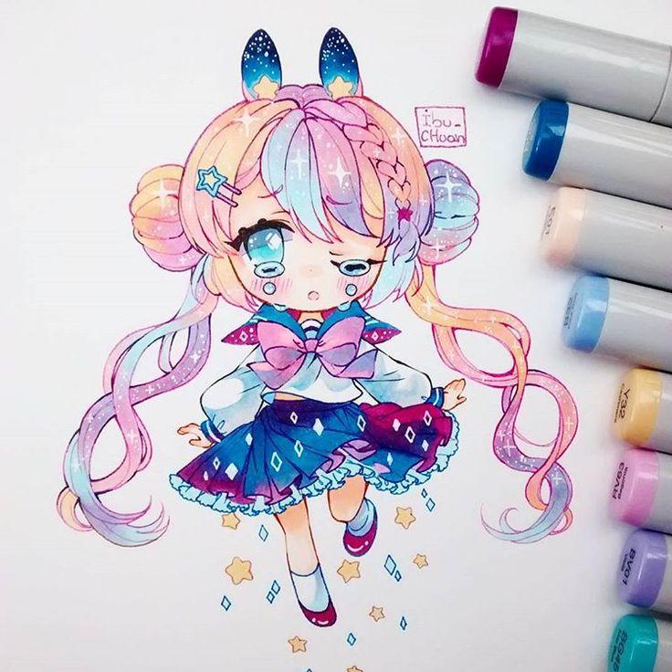 Las 25+ mejores ideas sobre Chica anime kawaii en