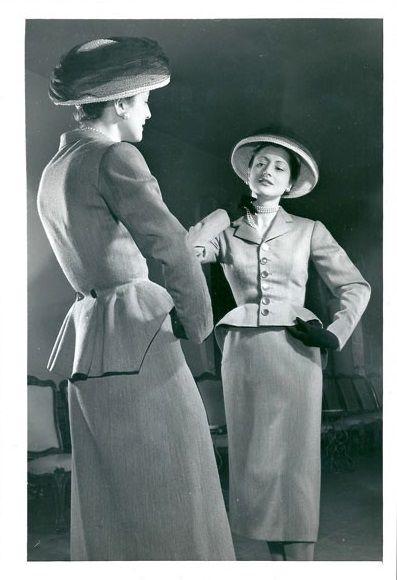 1950 - Balenciaga spring suit