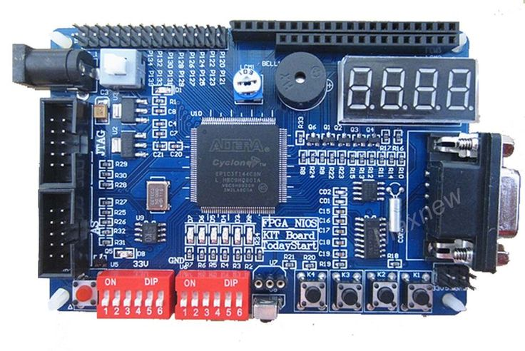 FPGA Cyclone Altera FPGA EP1C3T144 Development Learning Board