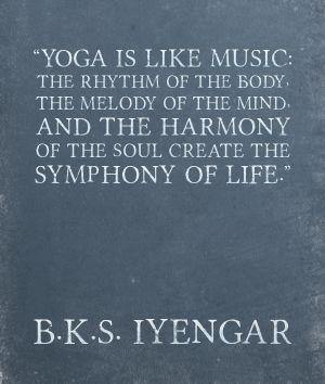 BKS #yoga