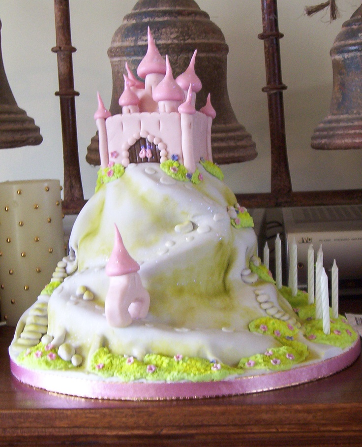Fairy Castle as designed by the fab Debbie Brown