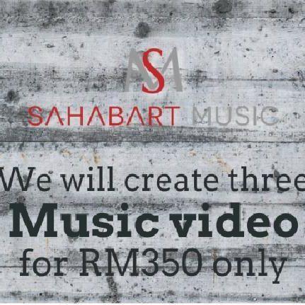 Kami menawarkan servis membuat video muzik untuk para pemuzik serta band. Kami menawarkan 3 jenis video muzik dalam satu harga. video muzik tersebut ialah video muzik statik, lirik video serta video muzik dengan visual yang menarik.  Anda boleh dapatkan diskaun sehingga RM40 apabila anda menempah servis ini melalui android app kami. cuma search di google play 'sahabartmusic' kemudian tempah servis ini  melalui aplikasi SahabArt Music. #sahabartmusic #malaysianmusic  #music #genre #song…