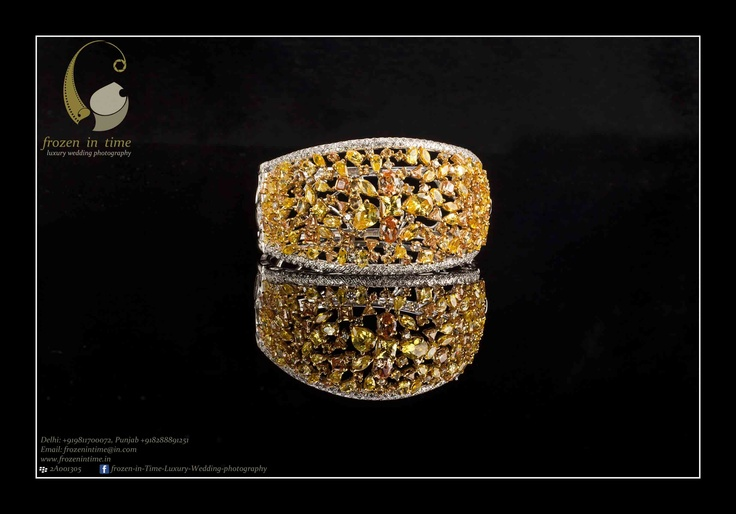 W : www.frozenintime.in  E : contactfrozenintime@gmail.com    Beautiful Bridal Bangle Bracelet by Amaris Jewels