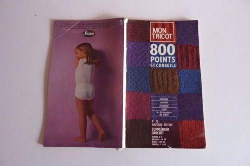 Mon-tricot-N-70-Pingouin-800-Points-Aiguille-TRICOT-CROCHET