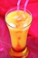 vodka - creme de banane - jus d'orange - grenadine - sucre de canne
