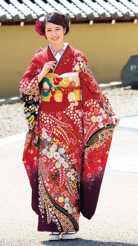 振袖のコーディネート集 伝統のきものいしげ 石毛呉服店 振袖 成人式 着物 着物 美人