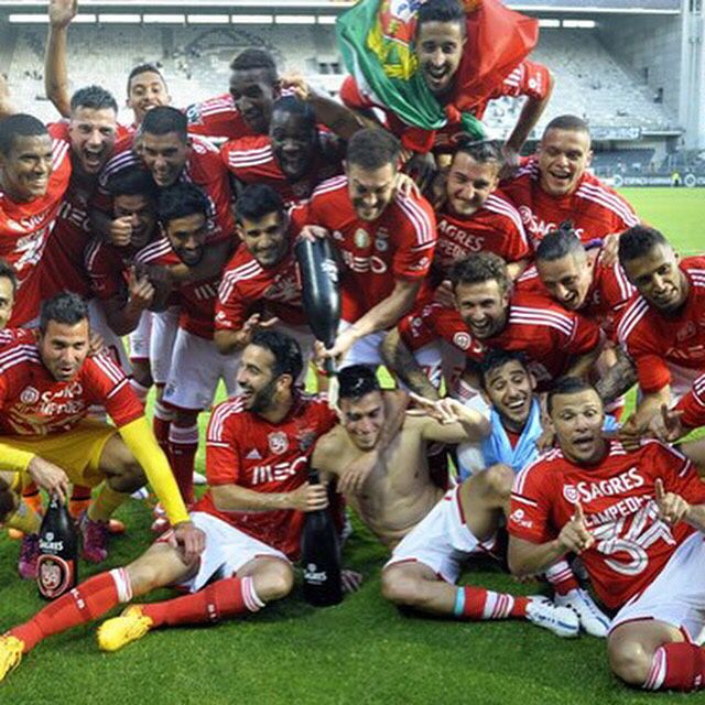 Benfica 2014-2015 Portuguese Soccer Champions!